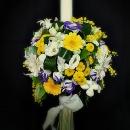 lumanare-botez-galben-violet