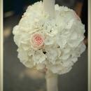lumanare-nunta-cu-hortensie-si-trandafir